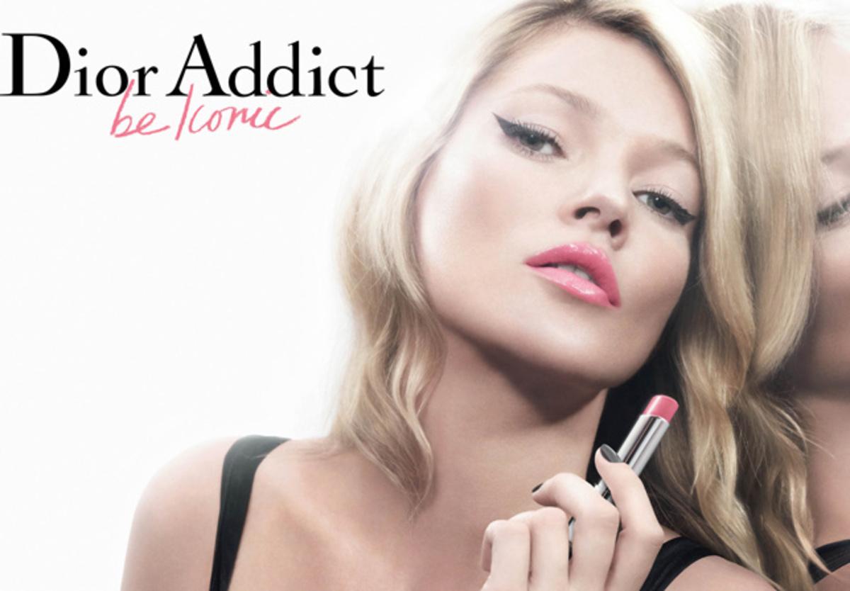 Первый взгляд на Кейт Мосс в рекламе помады Dior Addict