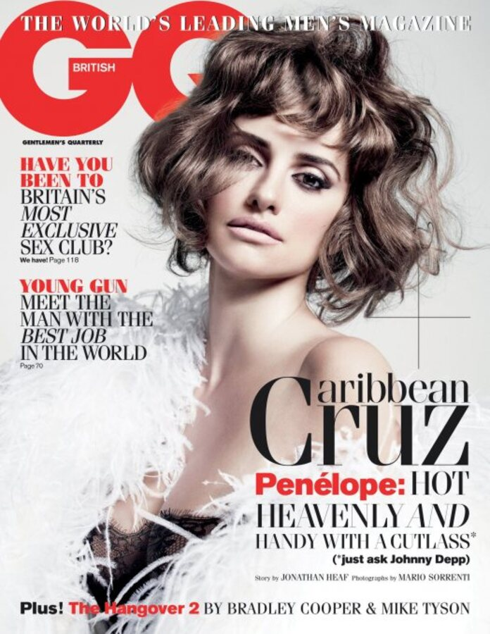Пенелопа Крус в журнале GQ. UK. Июнь 2011