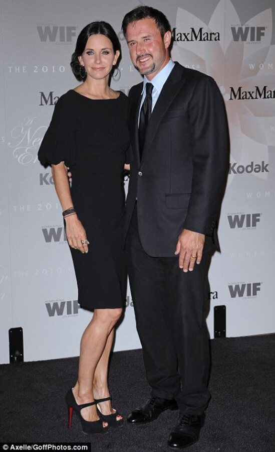Кортни Кокс рассталась со своим мужем после 11 лет брака