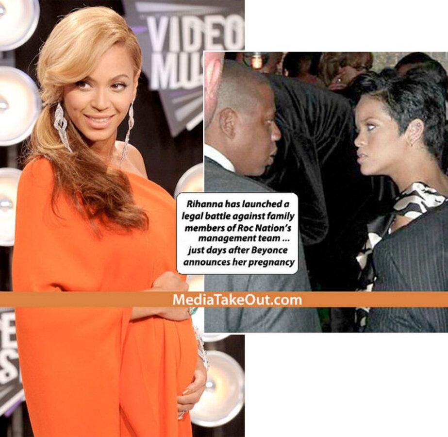 Рианна уходит от Jay-Z?