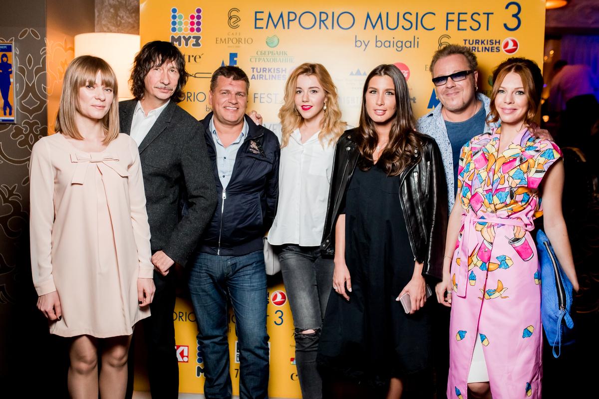 Владимир Пресняков спел дуэтом с финалисткой Emporio Music Fest