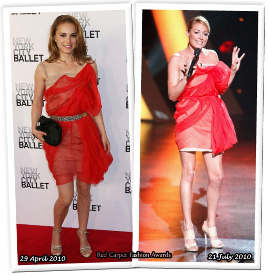 Fashion battle: Натали Портман и Кэт Дили