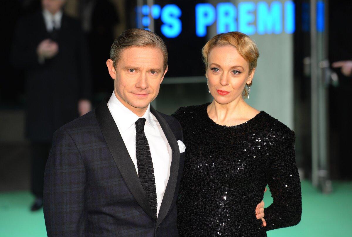 Звезда «Шерлока» Мартин Фриман расстался с Амандой Аббингтон после 15 лет отношений
