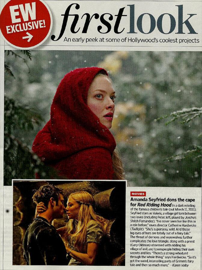Первый взгляд на фильм Кэтрин Хардвик «Красная шапочка»