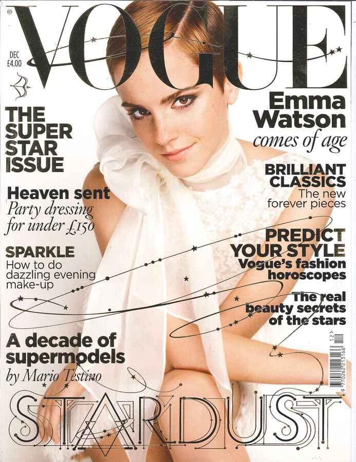 Эмма Уотсон в журнале VOGUE. Декабрь 2010