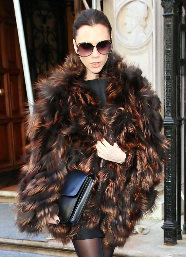 Виктория Бэкхем представила на Неделе Моды свою новую шестую коллекцию