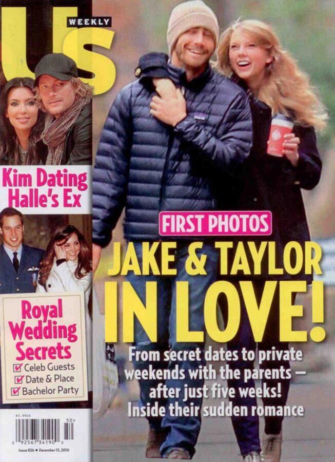 Отношения Джейка Джилленхола и Тэйлор Свифт не более, чем шоу?