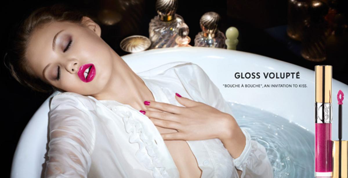 Новая коллекция блесков для губ Yves Saint Laurent. Весна 2014