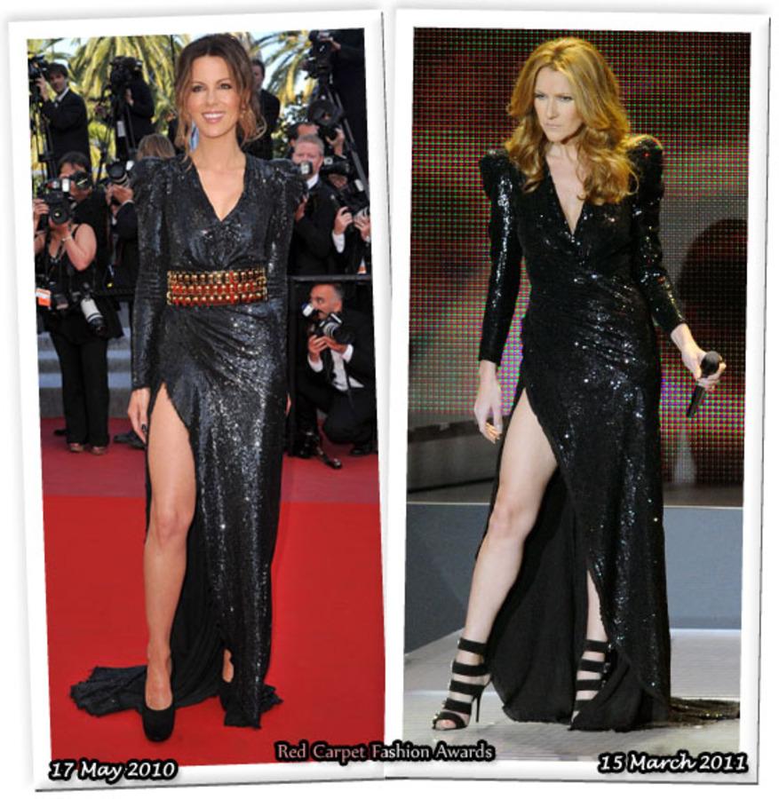 Fashion Battle: Кейт Бекинсэйл и Селин Дион