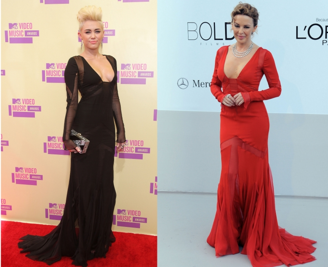 Fashion Battle: Майли Сайрус и Кайли Миноуг