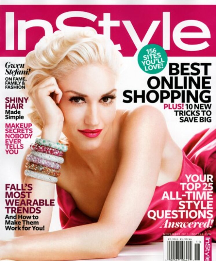 Гвен Стефани в журнале InStyle. Ноябрь 2011