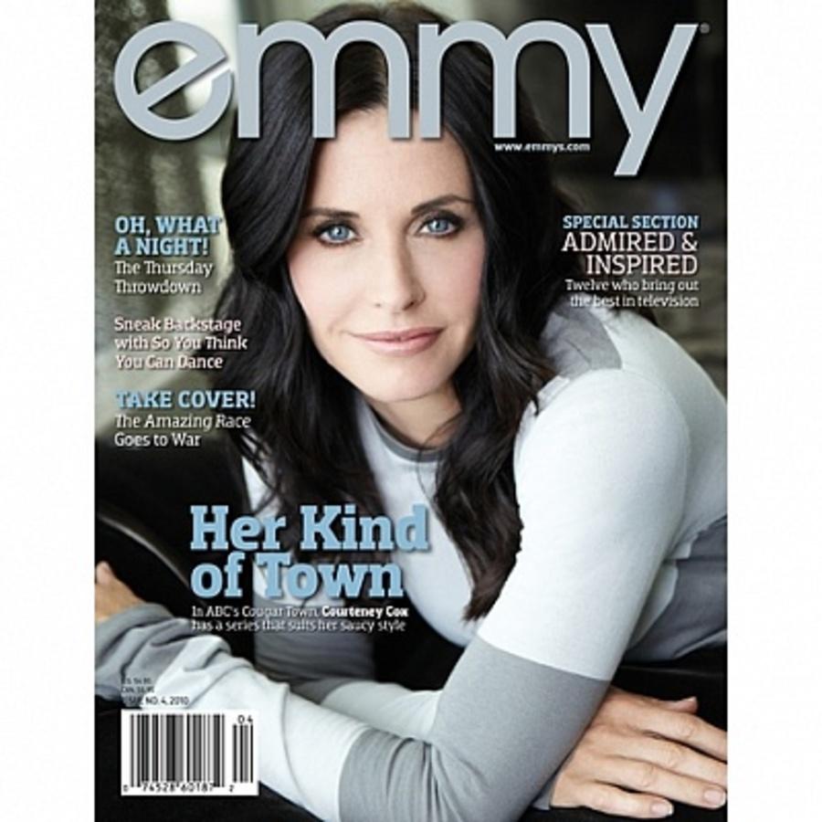 Кортни Кокс в журнале Emmy