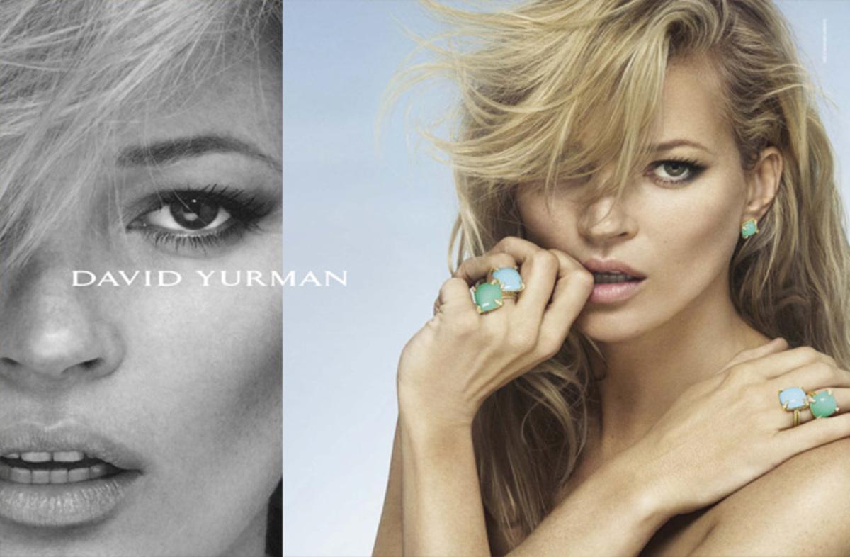 Кейт Мосс снялась в новой рекламной кампании David Yurman