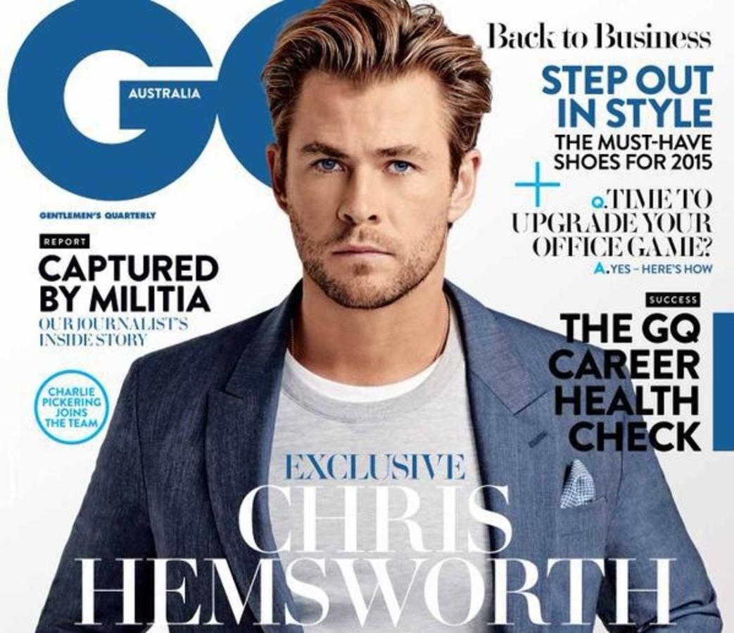 Крис Хемсворт в журнале GQ Австралия. Февраль 2015