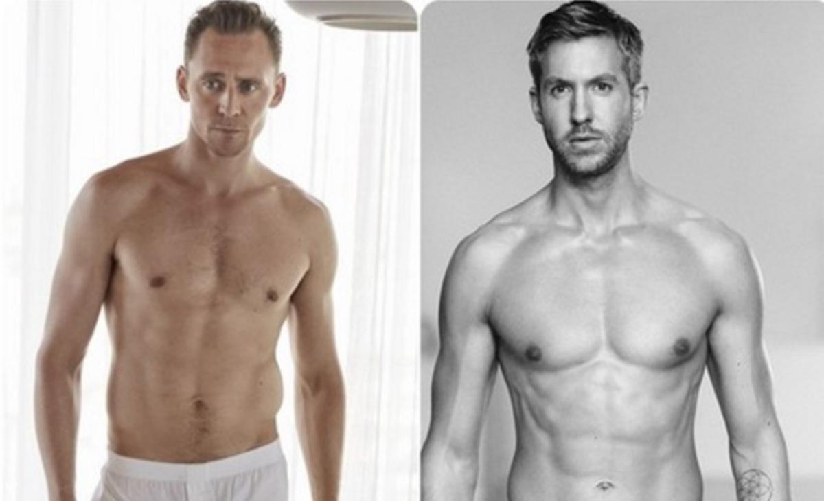 Том Хиддлстон заменит Келвина Харриса в рекламе нижнего белья Armani