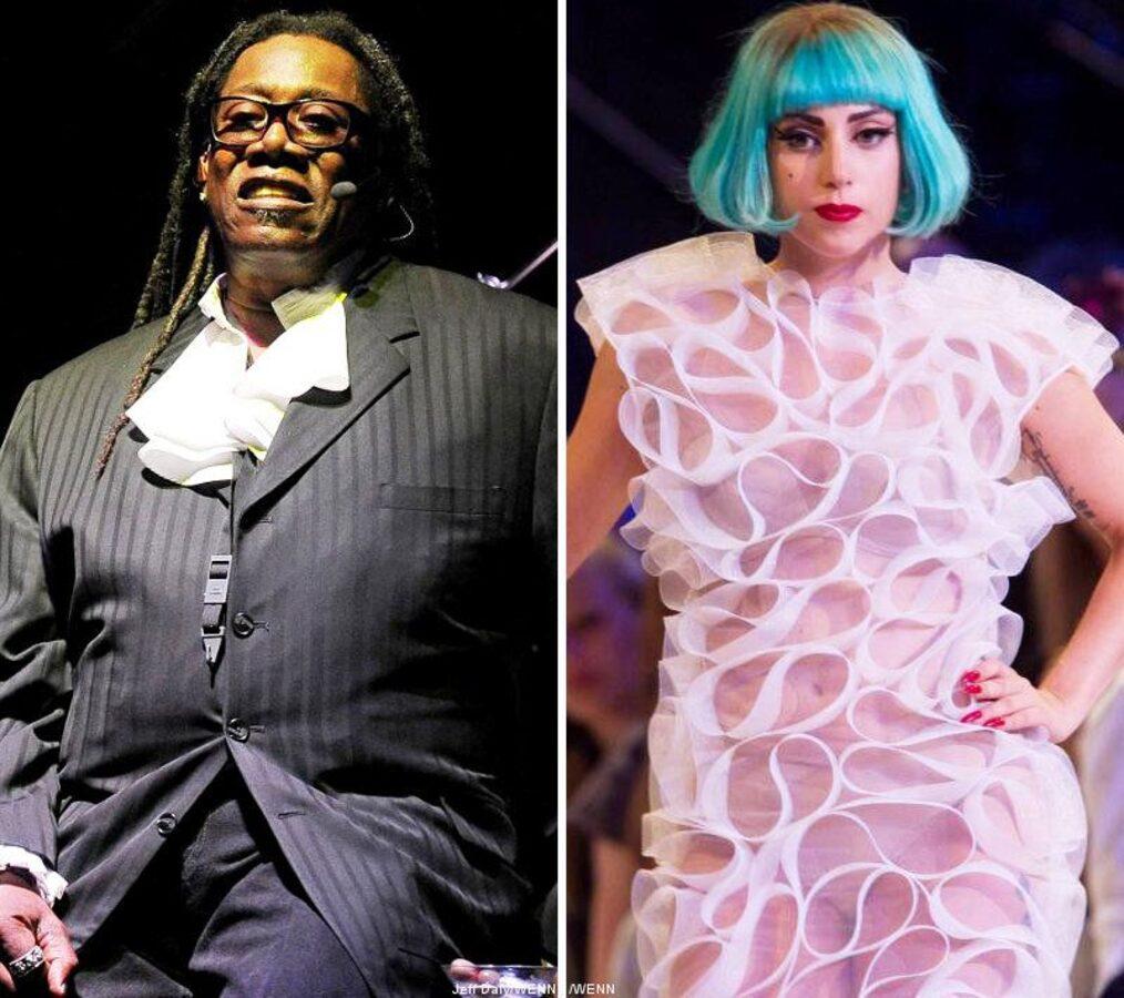 Lady Gaga и ее фанаты желают скорейшего выздоровления саксофонисту Кларенсу Клемонсу