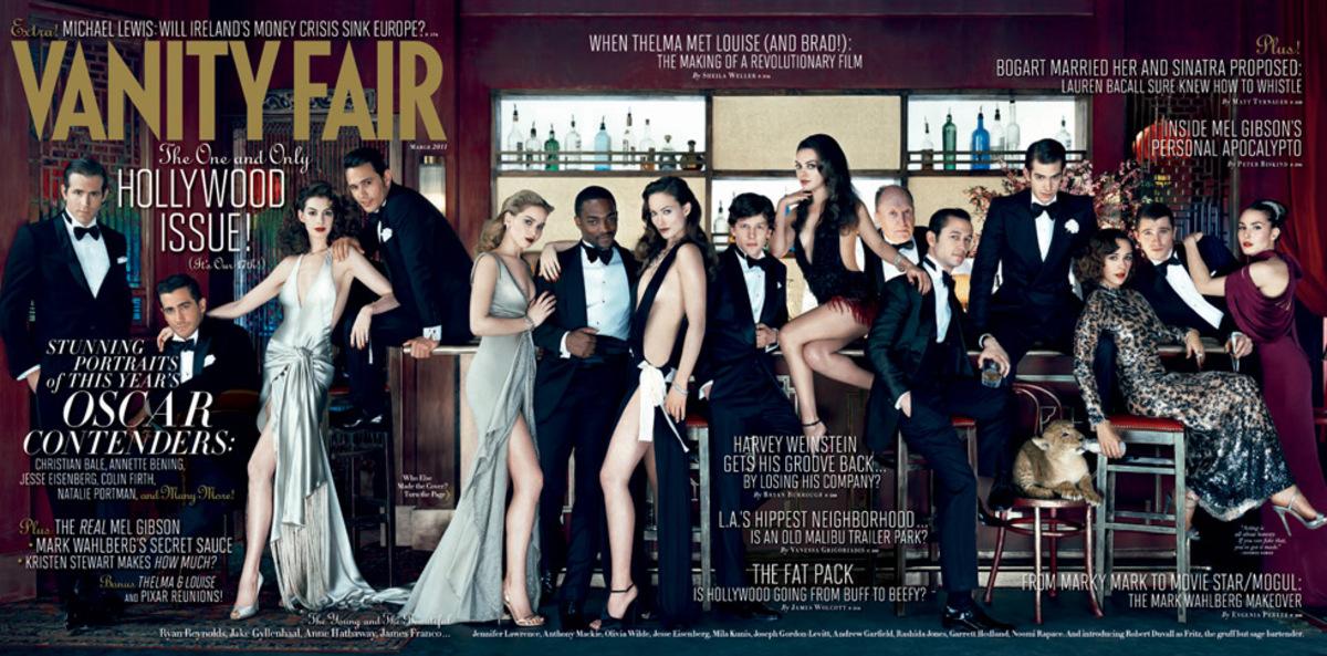 Обложка Vanity Fair 2011 Голливудский выпуск