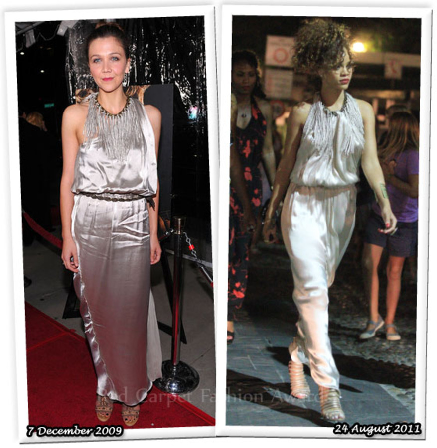 Fashion Battle: Мэгги Джилленхол и Рианна