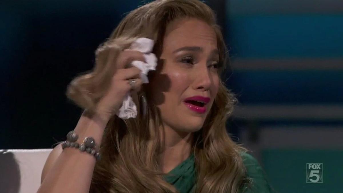 Дженнифер Лопес вновь довели до слез
