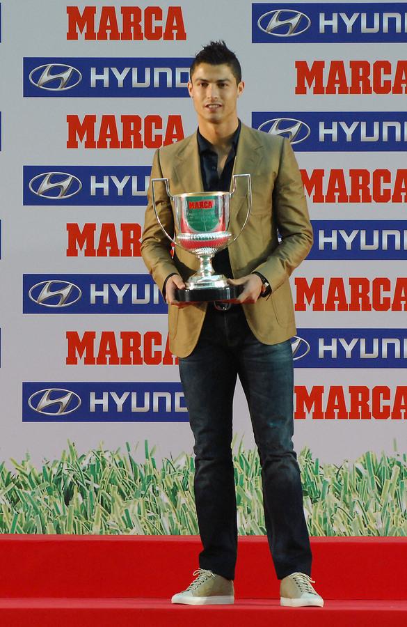 Криштиану Роналду на церемонии Marca Football Awards