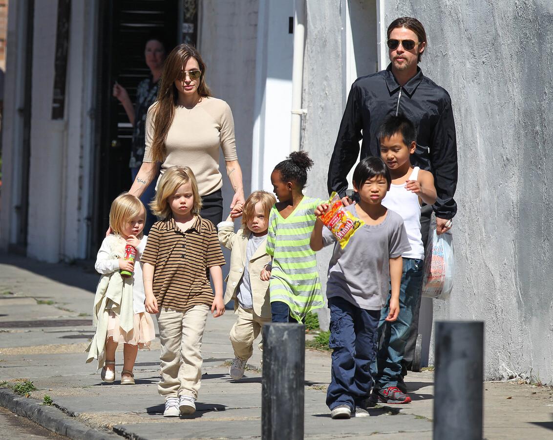 Анджелина Джоли: мои дети не считают меня смешной