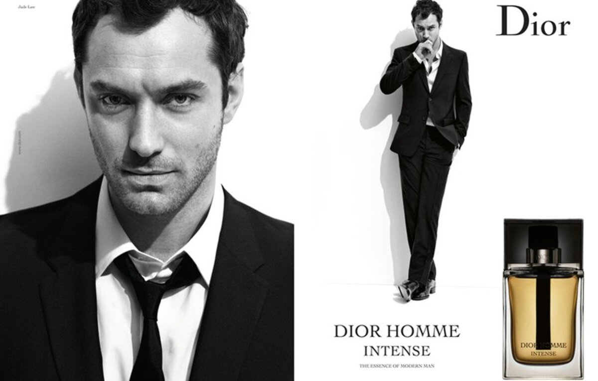 Джуд Лоу в рекламе Dior Homme