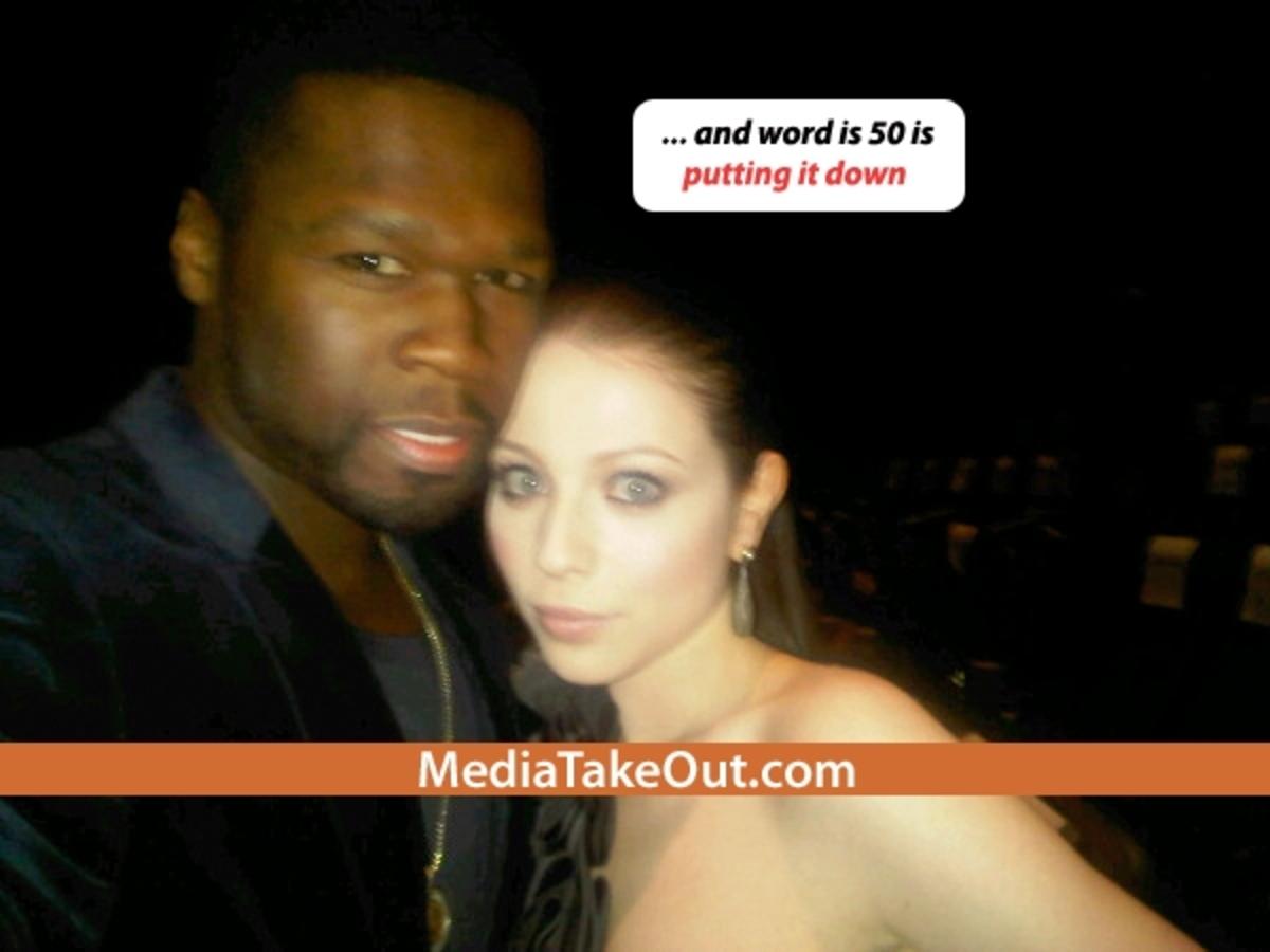 50 Cent  и Мишель Трахтенберг?