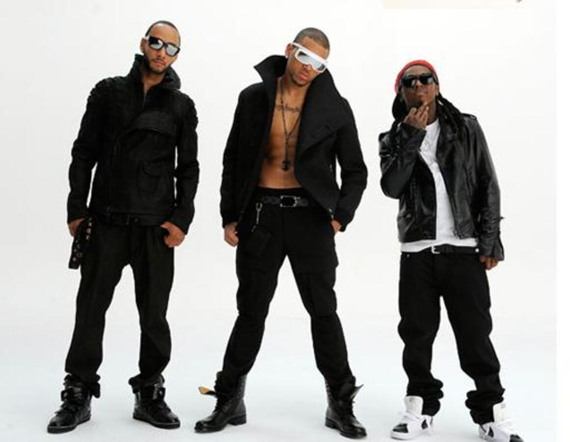 Клип Криса Брауна feat. Busta Rhymes и Lil Wayne - Look At Me Now