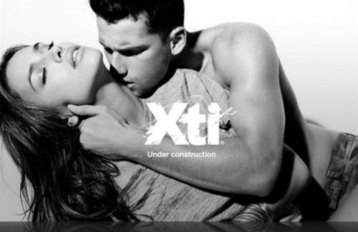 Ирина Шейк в рекламе одежды XTI