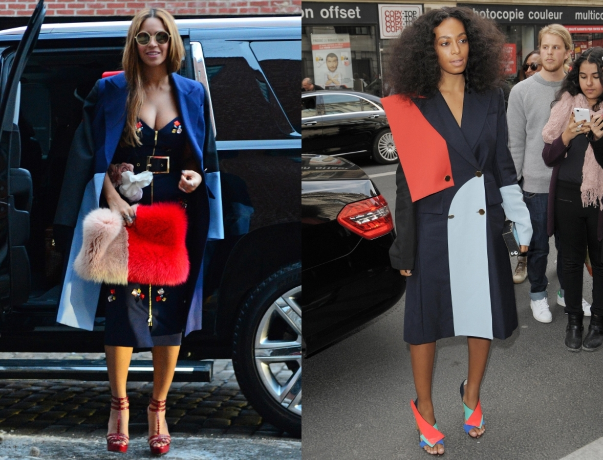 Fashion battle: Бейонсе и Соланж Ноулз
