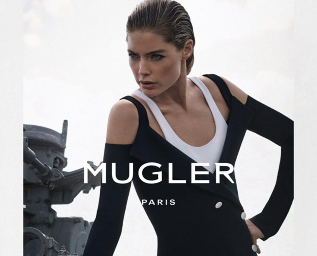 Даутцен Крез снялась в рекламной кампании Mugler. Весна / лето 2016