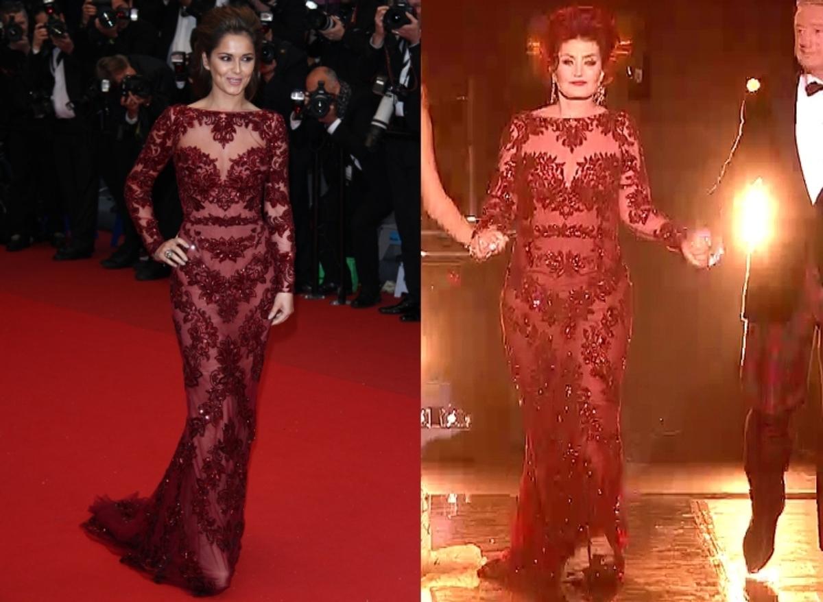 Fashion battle: Шерил Коул и Шерон Осборн