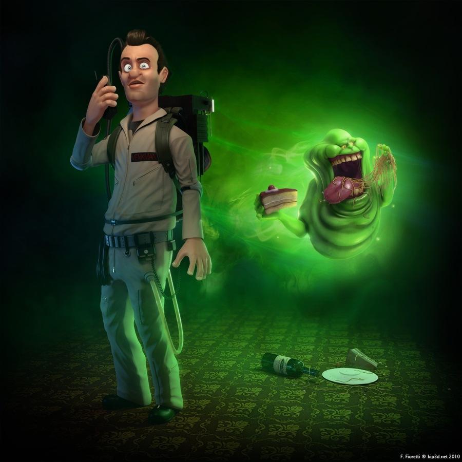 «Охотники за привидениями» в стиле Pixar