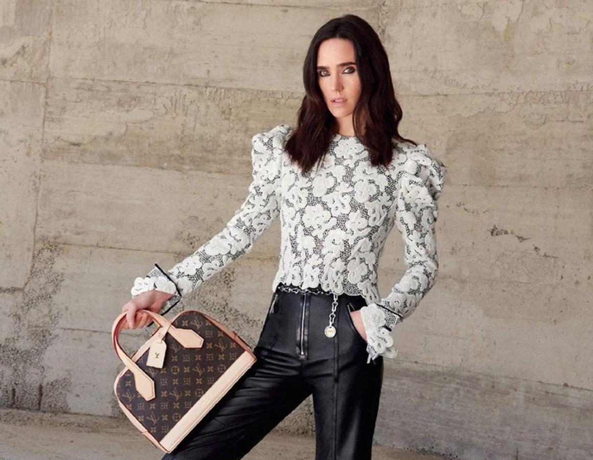 Дженнифер Коннелли снялась в новой рекламной кампании Louis Vuitton. Осень / зима 2015