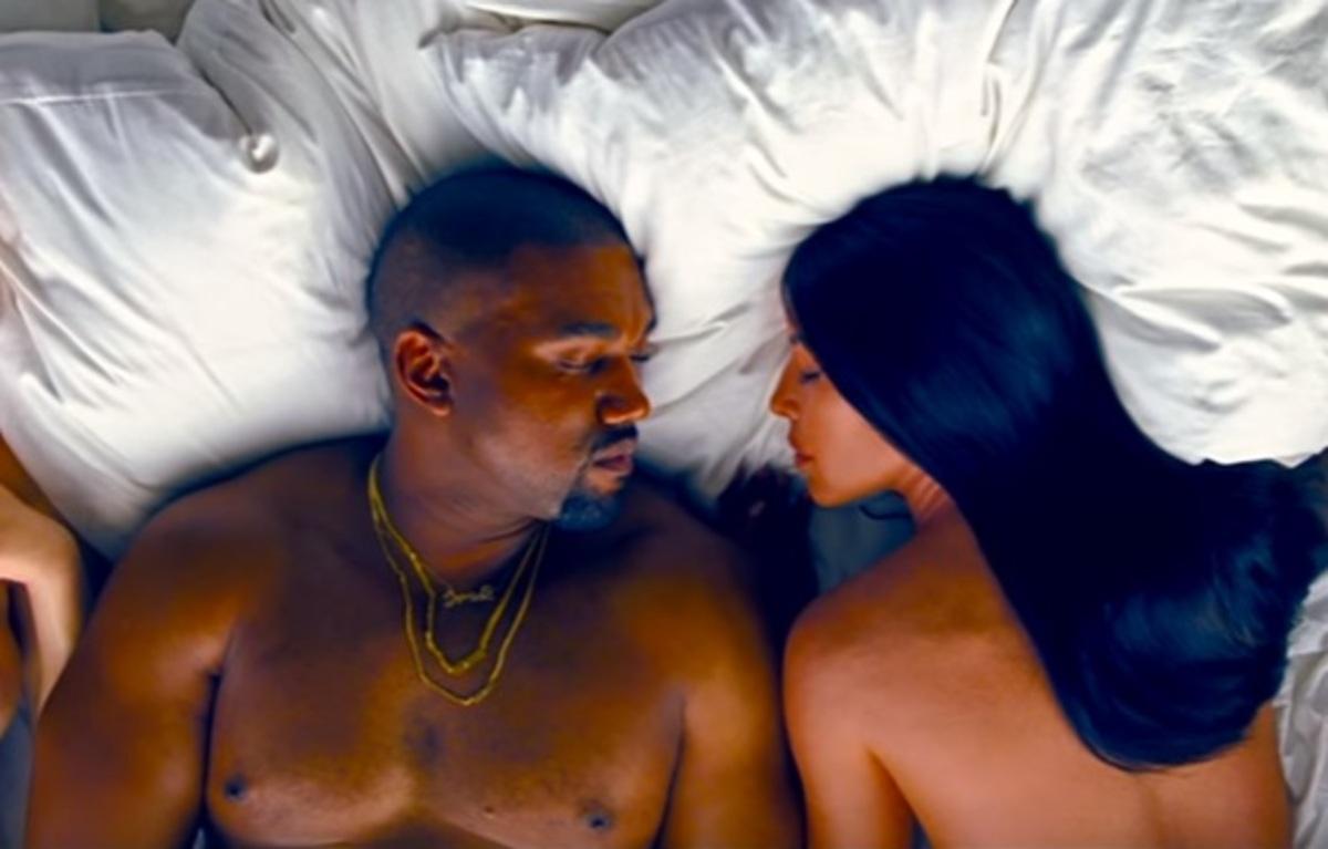 Скандальный клип Канье Уэста Famous с голыми звездами появился на YouTube