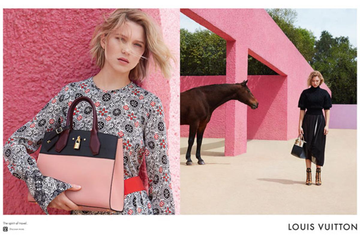 Леа Сейду снялась в новой рекламной кампании Louis Vuitton