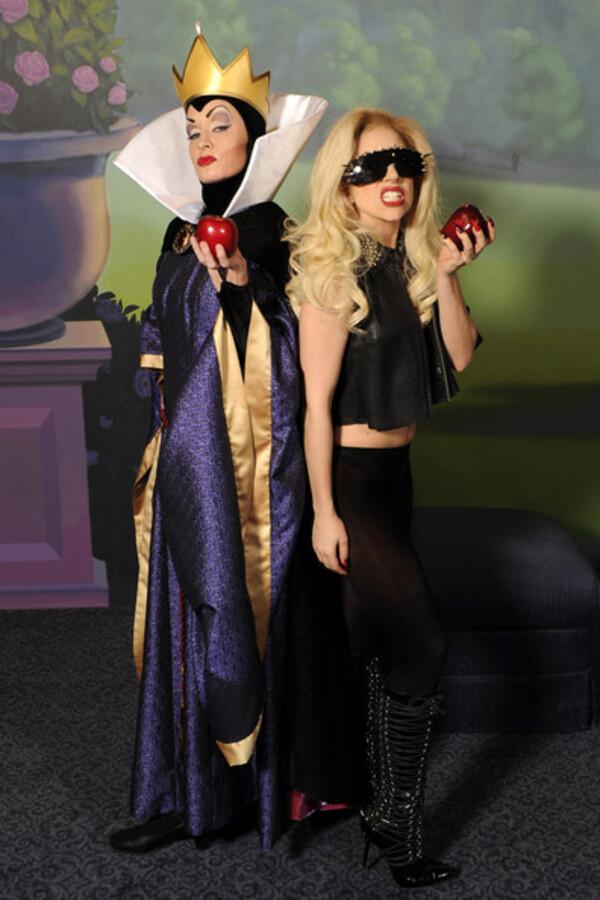Lady Gaga и Злая Королева
