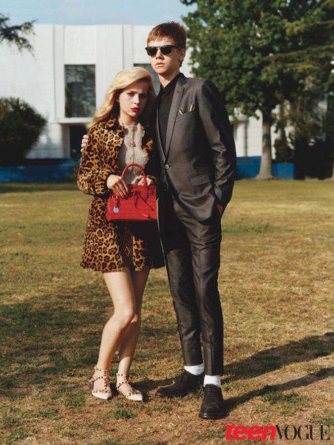Молодой Голливуд в журнале Teen Vogue
