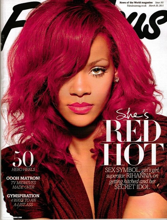 Рианна в журнале Fabulous. Март 2011