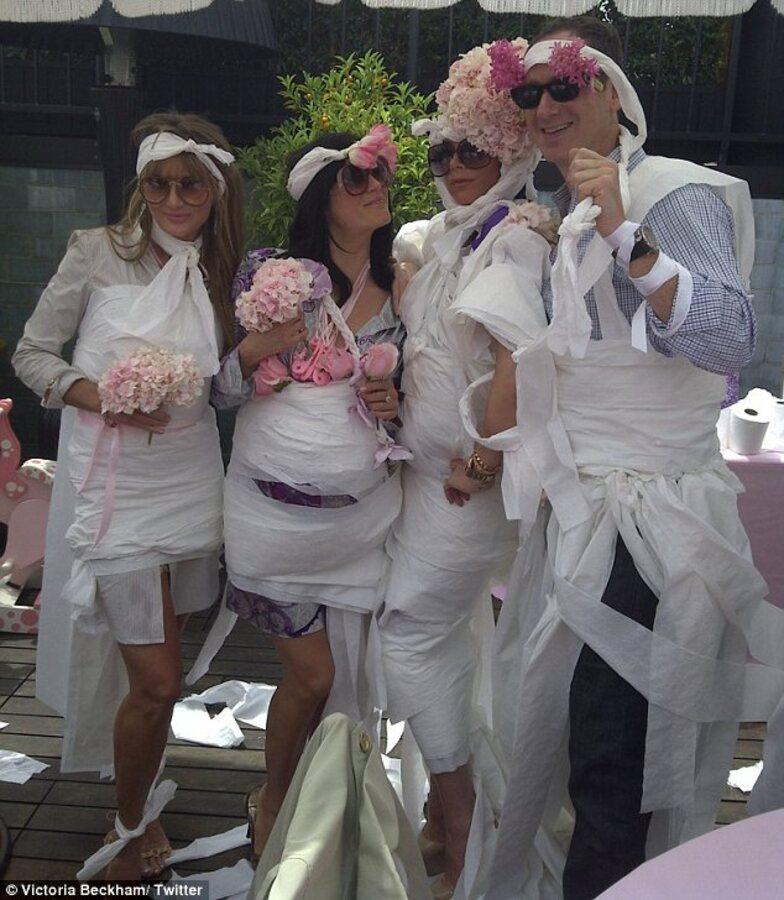 Розовый праздник для Виктории Бэкхем