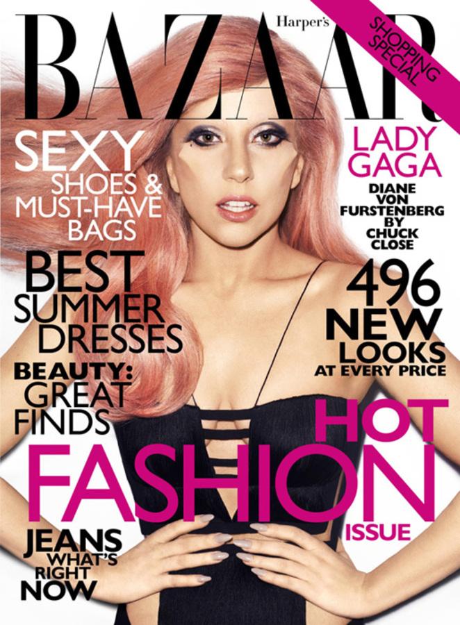 Lady Gaga в журнале Harper's Bazaar. Май 2011