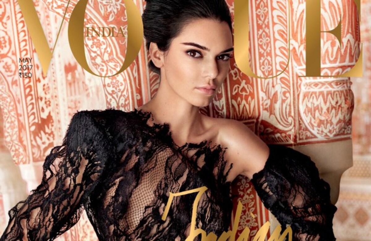 Кендалл Дженнер оказалась в центре очередного скандала из-за обложки Vogue
