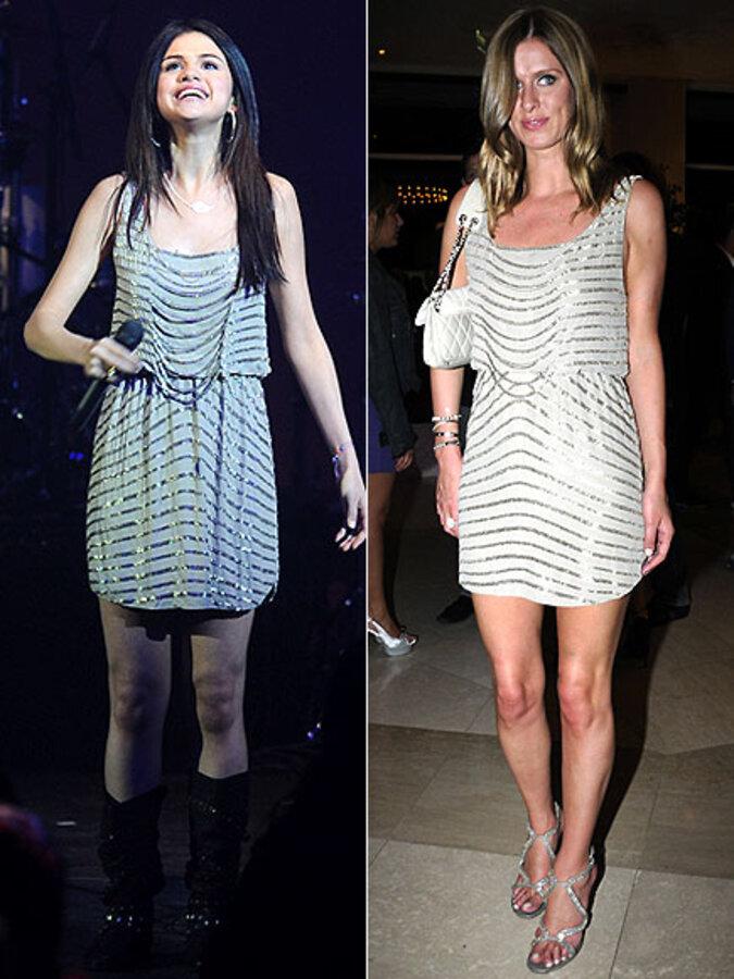 Fashion battle: Селина Гомес и Никки Хилтон