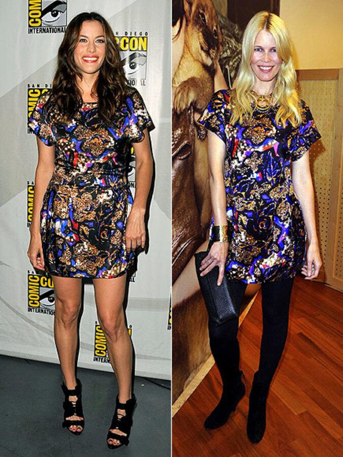 Fashion battle: Лив Тайлер и Клаудия Шиффер