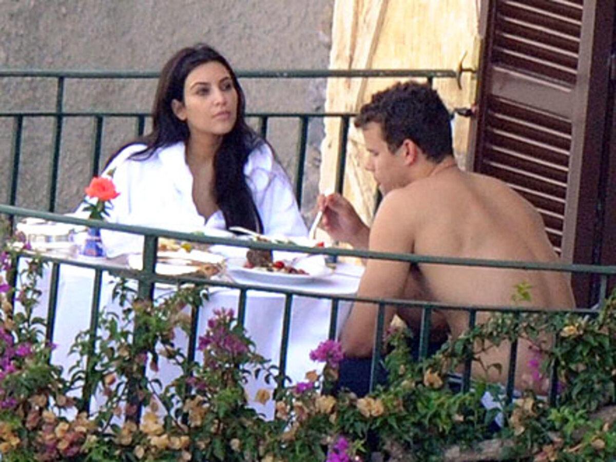 Первый медовый месяц Ким Кардашиан и Криса Хамфриса на Капри