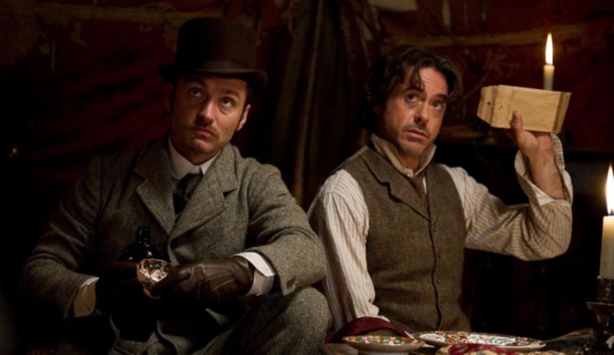 """Второй трейлер фильма """"Шерлок Холмс: Игра теней"""""""
