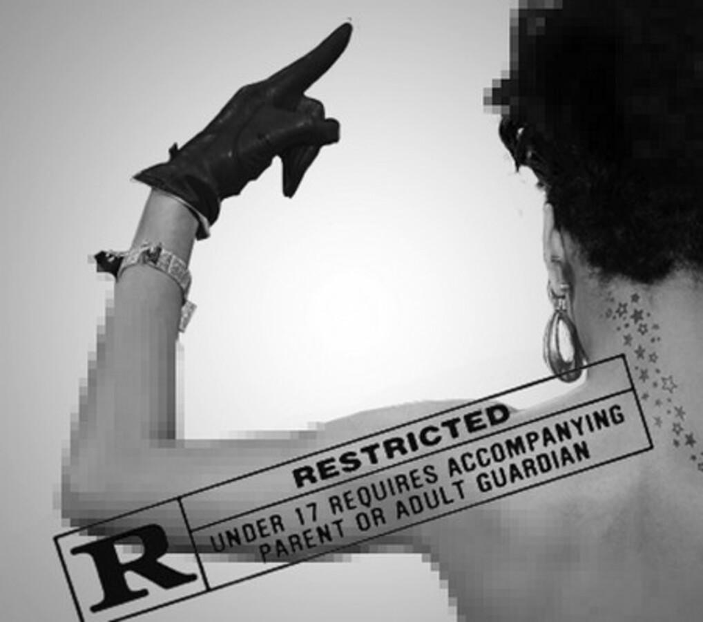 """Обложка нового альбома Рианны """"Rated R""""?"""