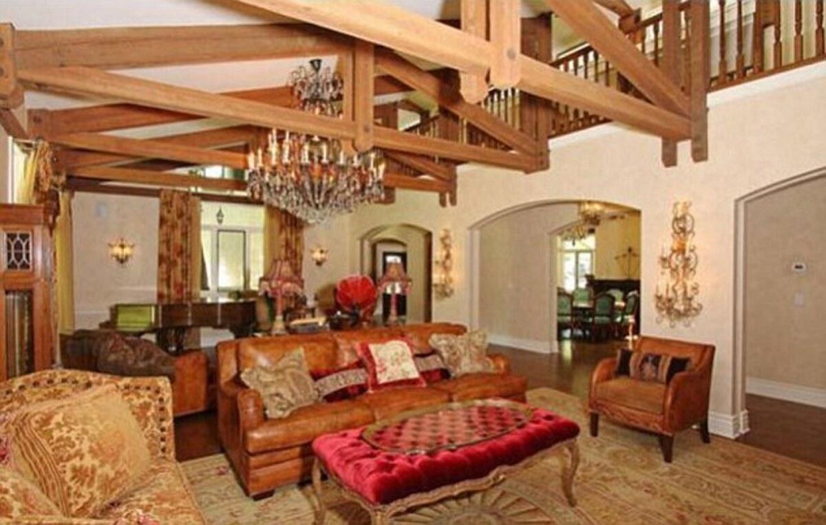 Лиза Мари Пресли  продает свое ранчо в Лос-Анджелесе после того, как заявила о переезде в Англию