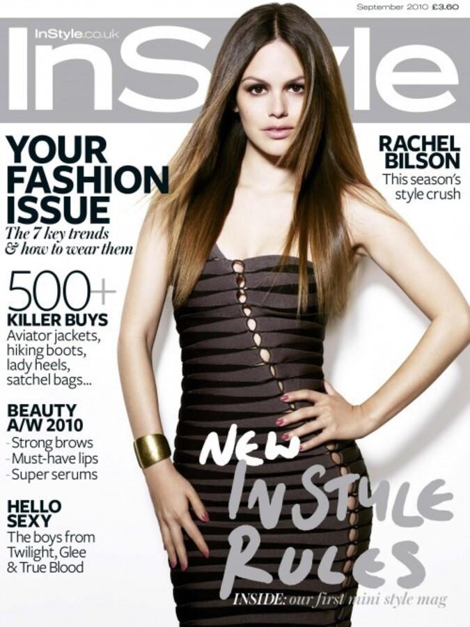 Рэйчел Билсон в журнале In Style. Сентябрь 2010