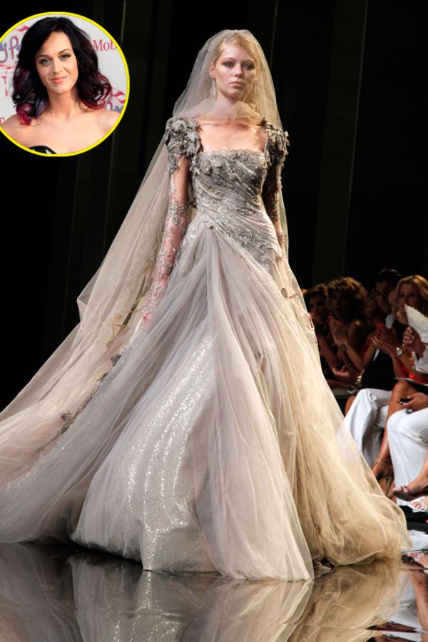 Свадебное платье Кэти Перри